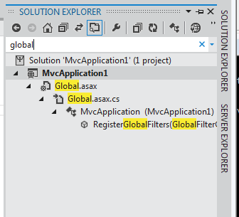 Visual Studio 2011 Beta Solution Explorer