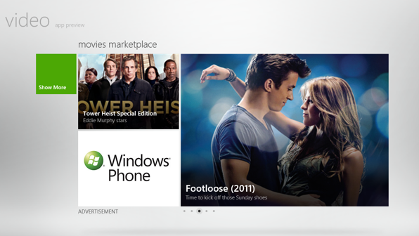 Windows 8 Movie App RS