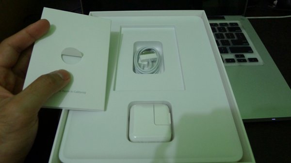 Ipad accessories in box