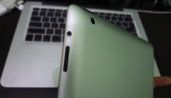 Ipad back buttons